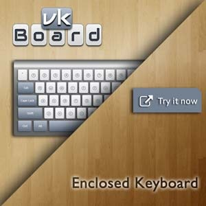 Enclosed Keyboard – Type Enclosed Online